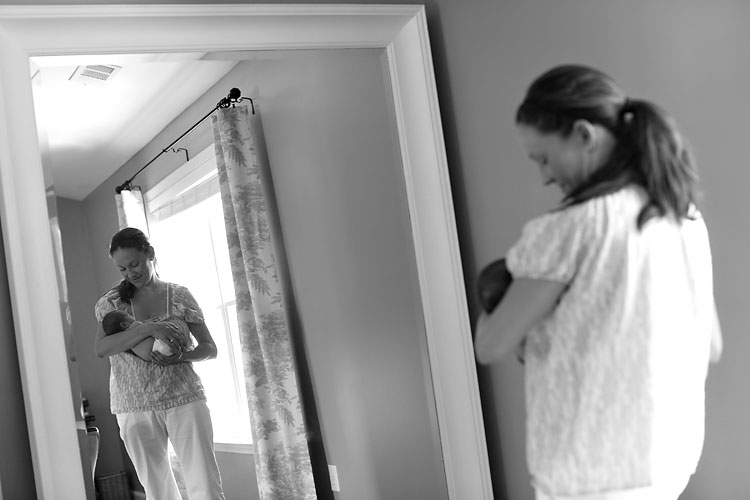 Mom Baby Mirror